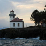 Lighthouse at Lime Kiln State Park