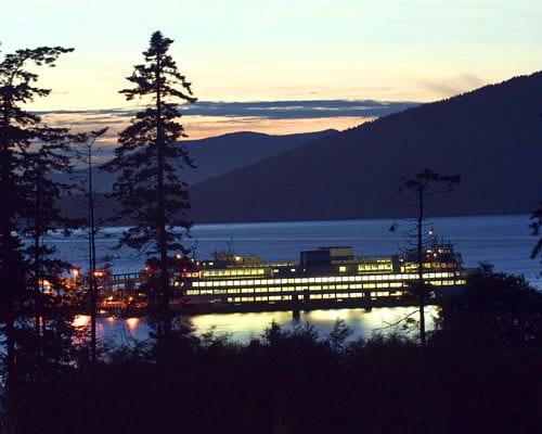 Night Ferry in annacortes