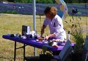 AM at Lavender Festival