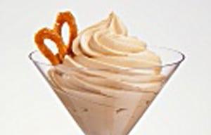 Caramel Cream with Caramel Garnish