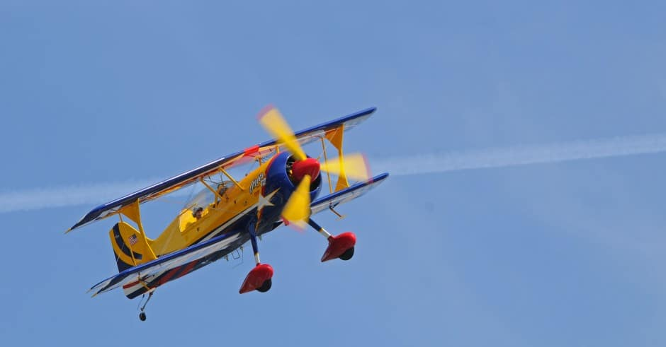 FH Fly In Biplane