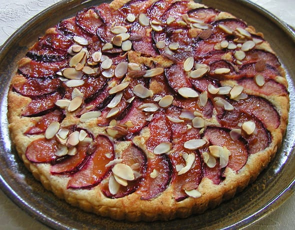 Food and Wine - Plum Torte at Harrison House Suites