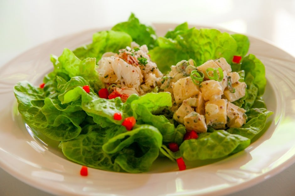 Perfect light lunch - Maryland Crab Salad
