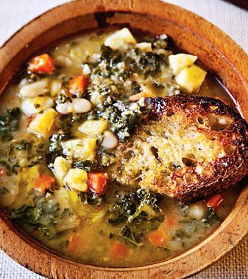 Gourmet Tuscan Bean Soup