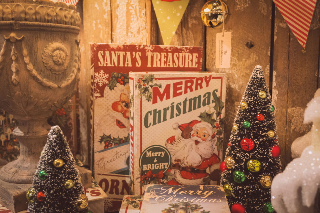 nostalgic holiday market