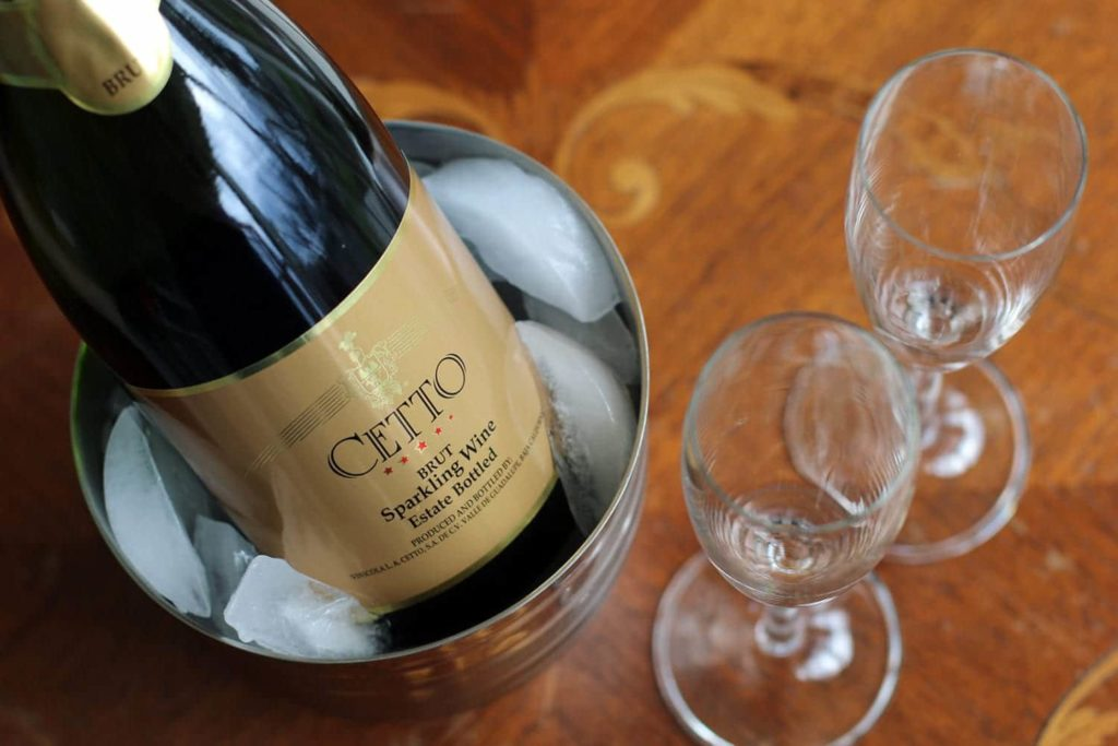 Champagne for Valentine's