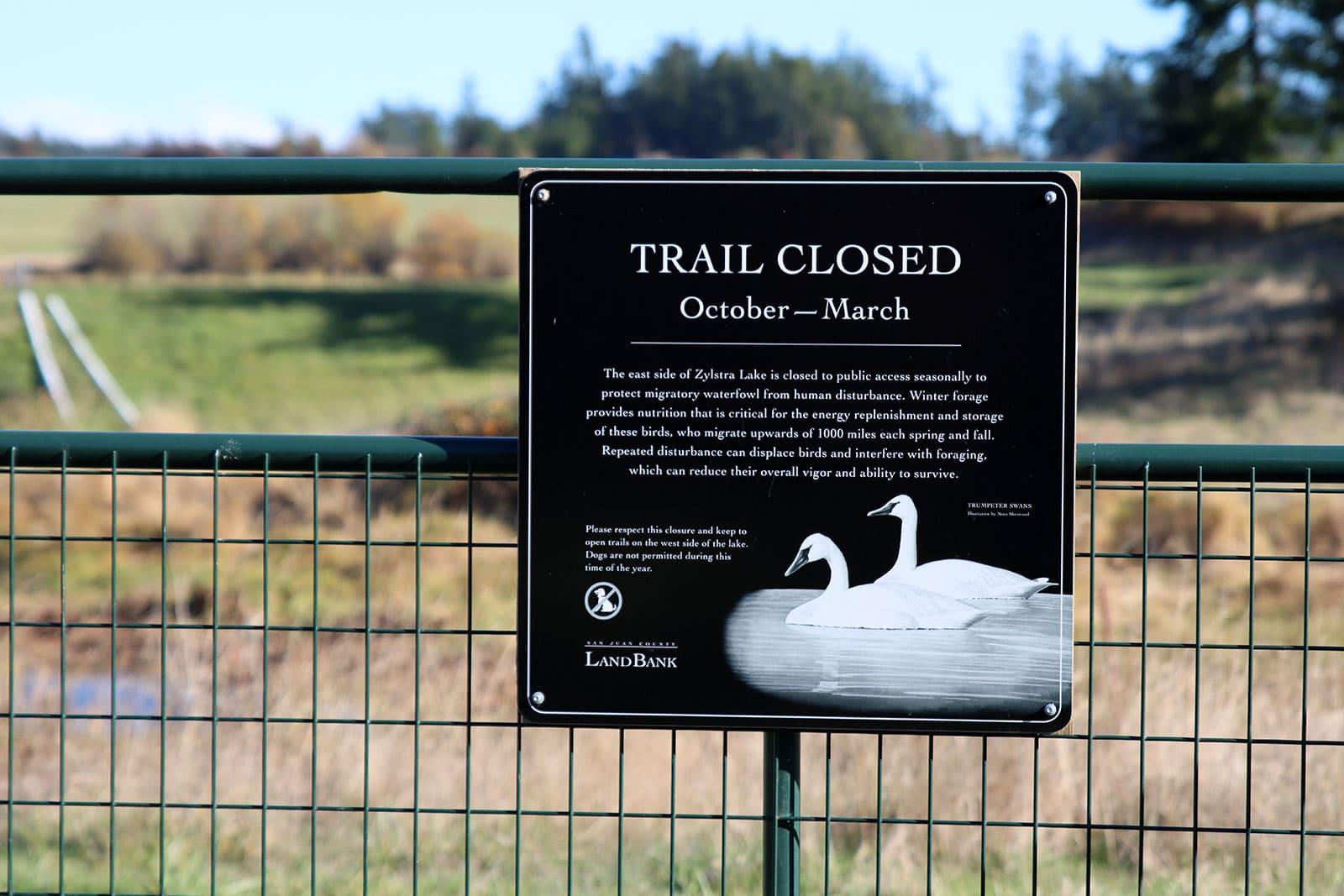 Zylstra Lake Preserve fences