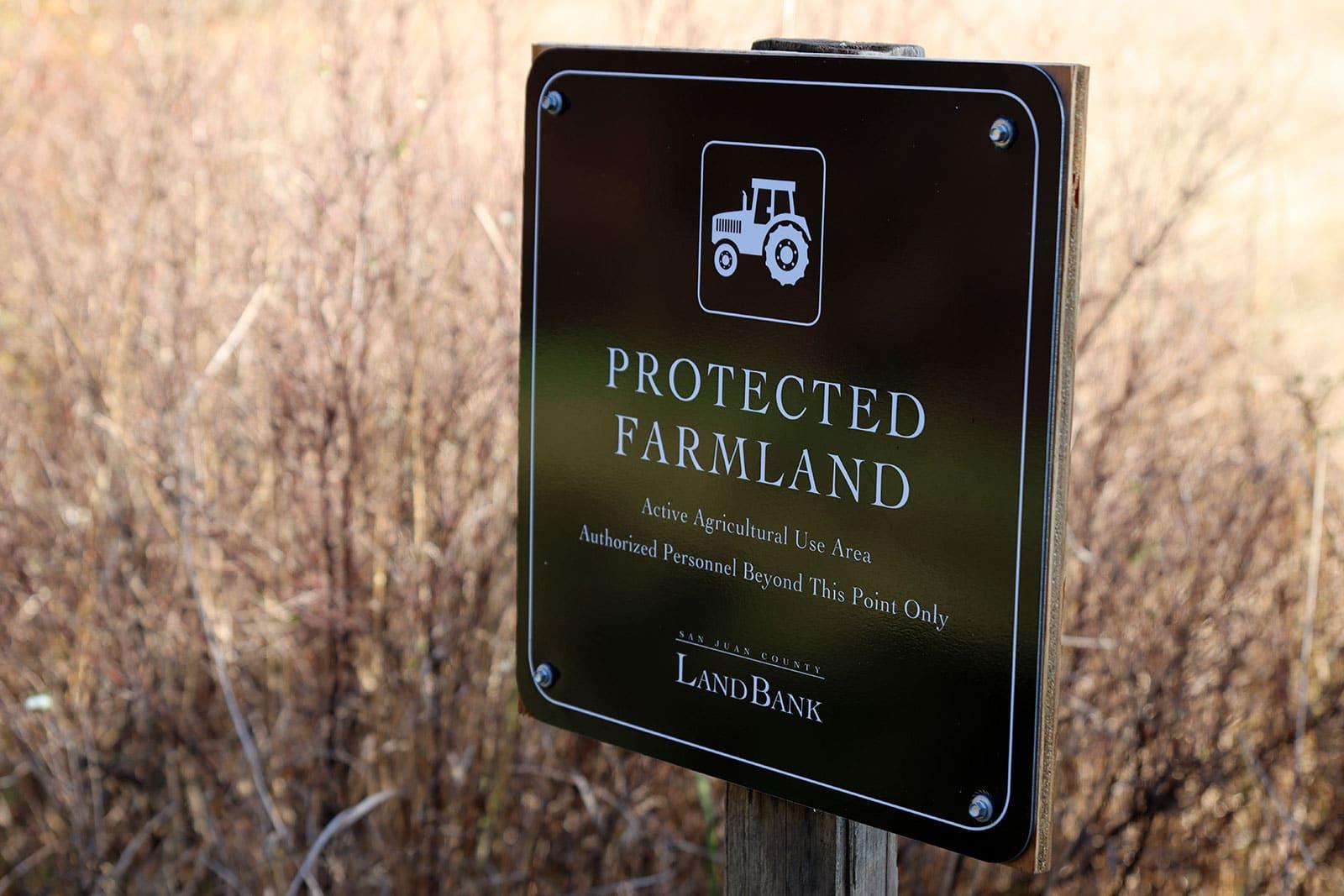 Zylstra Lake Preserve Protected Farmland
