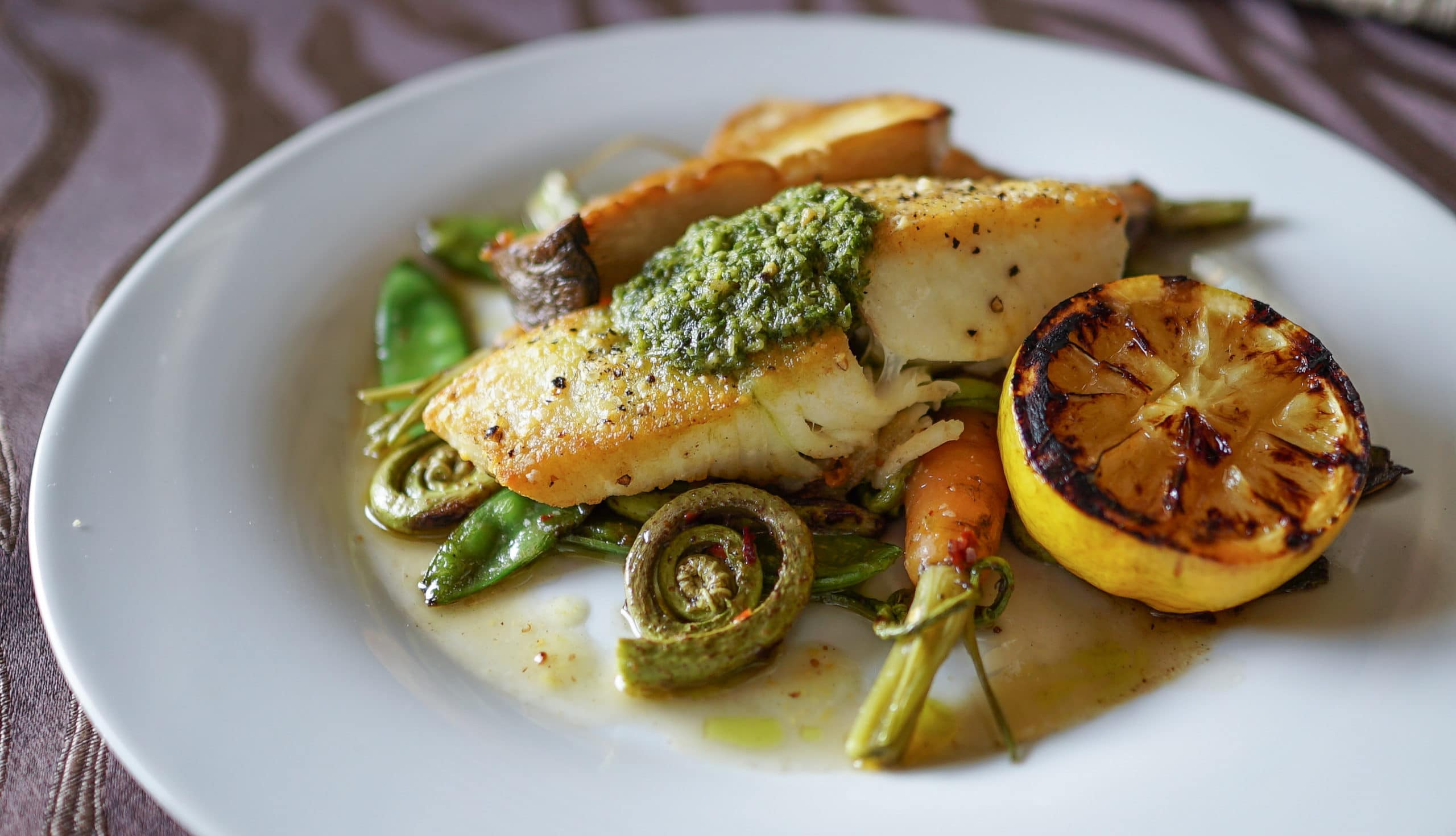 Delicious Farm to table cuisine at the Coho Restaurant, part of our San Juan Islands Bed and Breakfast