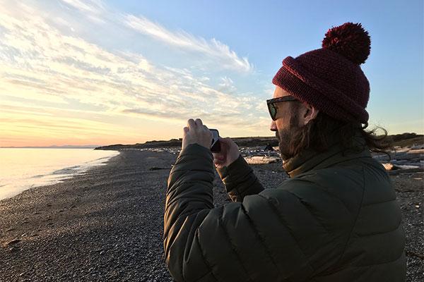 tourist at south beach