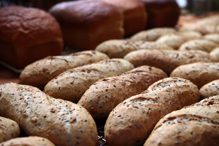 bread baking at the inn
